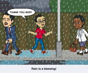 Rain is a blessing