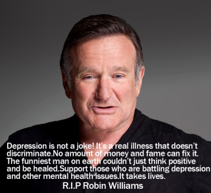 Depression is not a joke