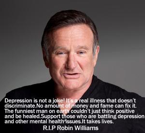 Depression is not a joke