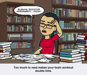 Too much reading